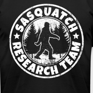 Funny Sasquatch Shirt: Sasquatch Research Team - Men's T-Shirt by American Apparel