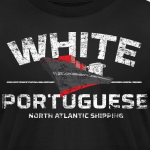 White Portuguese - Men's T-Shirt by American Apparel
