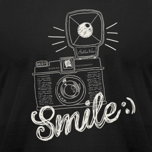 Retro Camera Smile - Men's T-Shirt by American Apparel