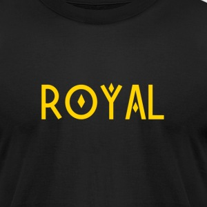 Royal Gold - Men's T-Shirt by American Apparel