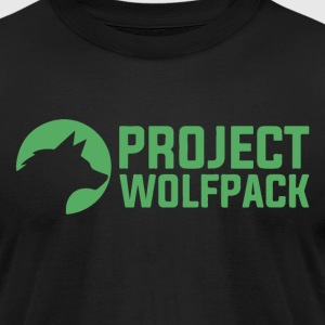 Project Wolfpack Logo - Men's T-Shirt by American Apparel