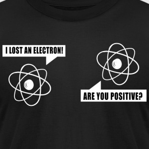 Funny ELECTRON| Engineer T-Shirt - Men's T-Shirt by American Apparel