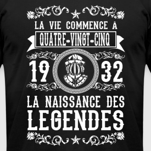 1932 - 85 ans - Légendes - 2017 - FR - Men's T-Shirt by American Apparel