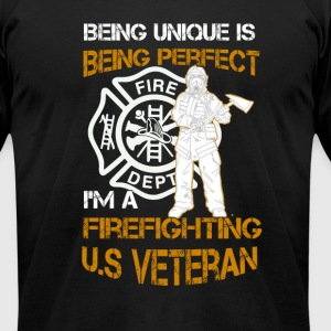 veteran - Men's T-Shirt by American Apparel
