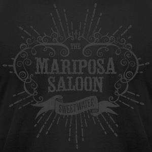 Mariposa Saloon - Men's T-Shirt by American Apparel