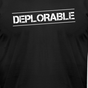 Donald Trump Basket of Deplorables TShirt - Men's T-Shirt by American Apparel