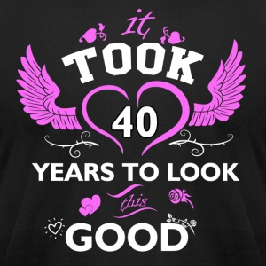 40 years and increasing in value - Men's T-Shirt by American Apparel