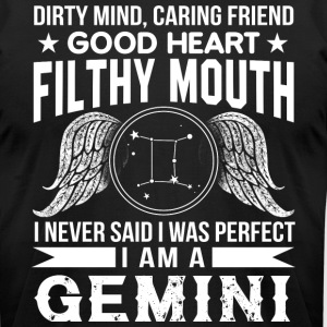 I Am A Gemini T Shirt - Men's T-Shirt by American Apparel