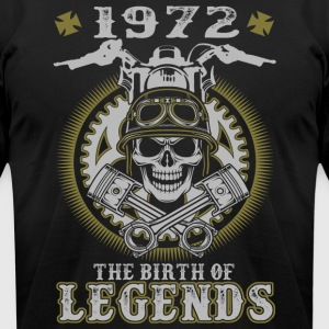 1972 The Birth Of Legends - Men's T-Shirt by American Apparel