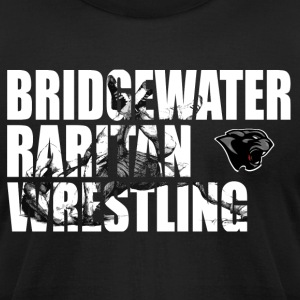 BR Panther Wrestling Cut-Out - Men's T-Shirt by American Apparel
