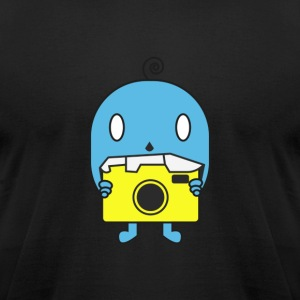 Tiny Photographer - Men's T-Shirt by American Apparel
