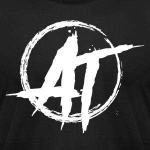 Anarcho Threads Logo - Men's T-Shirt by American Apparel
