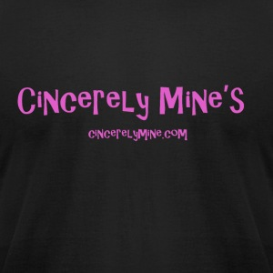 Cincerely Mine - Men's T-Shirt by American Apparel