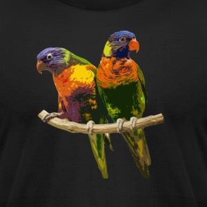 Bird tee-shirt - Men's T-Shirt by American Apparel