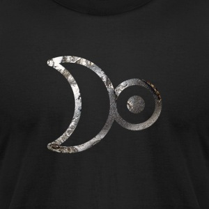 Alchemy Symbol (Platinum) - Men's T-Shirt by American Apparel