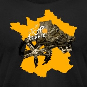 Le Tour de France - Men's T-Shirt by American Apparel