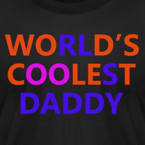 daddy design - Men's T-Shirt by American Apparel