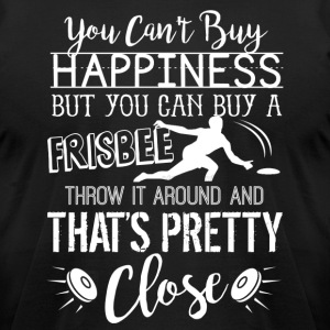 Ultimate Frisbee Happiness Shirt - Men's T-Shirt by American Apparel