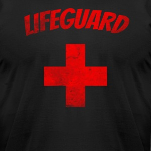 Lifeguard Grunge - Tshirt! - Men's T-Shirt by American Apparel
