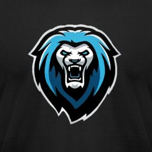 New NvarPlayzGamez Branding!! Cool Animated Lion - Men's T-Shirt by American Apparel