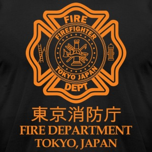 TOKYO FIRE DEPARTMENT - Men's T-Shirt by American Apparel
