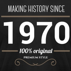 Making History since 1970 - Men's T-Shirt by American Apparel