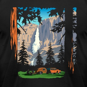 Yosemite Shirts - Men's T-Shirt by American Apparel