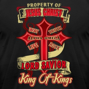 Love The Property Of Jesus Christ Shirt - Men's T-Shirt by American Apparel