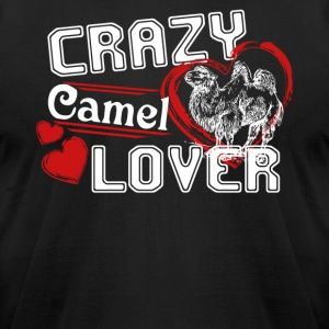 Camel Lover Shirts - Men's T-Shirt by American Apparel