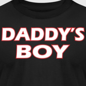 Awesome Daddys Boy - Men's T-Shirt by American Apparel