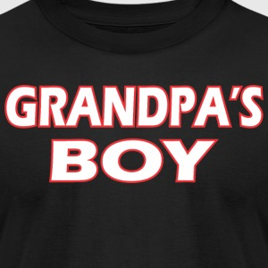 Awesome Grandpas Boy - Men's T-Shirt by American Apparel