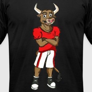Billy the Bull - Men's T-Shirt by American Apparel