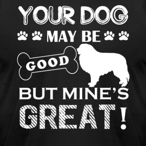 Great Pyrenees Shirt - Men's T-Shirt by American Apparel