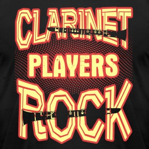 CLARINET PLAYERS ROCK SHIRT - Men's T-Shirt by American Apparel