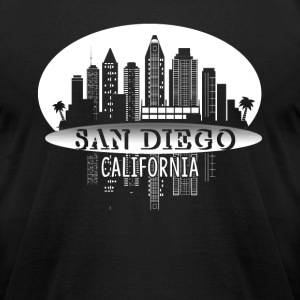 SAN DIEGO CALIFORNIA SHIRT - Men's T-Shirt by American Apparel