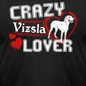 Vizsla Lover Shirt - Men's T-Shirt by American Apparel