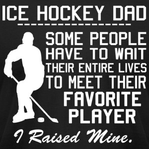ICE HOCKEY DAD - Men's T-Shirt by American Apparel