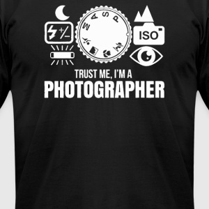 Trust ME Photograph - Men's T-Shirt by American Apparel