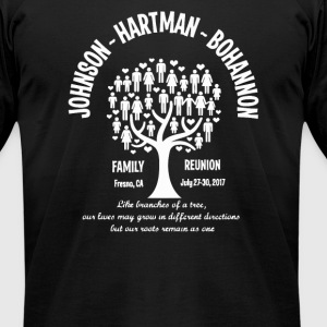 JHB FAMILY REUNION - Men's T-Shirt by American Apparel