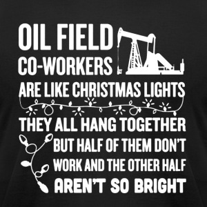 Oil Field Shirt - Men's T-Shirt by American Apparel