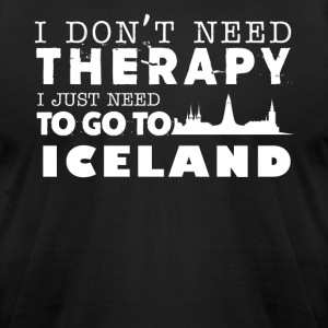 Iceland Therapy Shirt - Men's T-Shirt by American Apparel