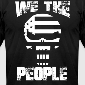 WE THE PEOPLE | America - Men's T-Shirt by American Apparel