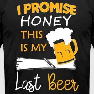 Funny Beer T Shirts | Custom Funny Beer Clothing - Men's T-Shirt by American Apparel