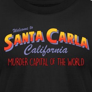 The Lost Boys - Welcome To Santa Carla - Men's T-Shirt by American Apparel