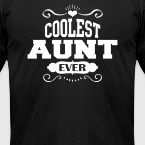 Coolest Aunt Ever - Men's T-Shirt by American Apparel