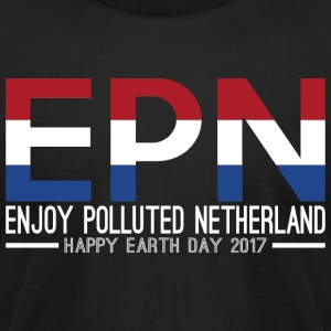 EPN Enjoy Polluted Netherland Happy Earth Day 2017 - Men's T-Shirt by American Apparel