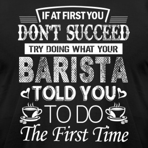 Barista Shirts - Men's T-Shirt by American Apparel