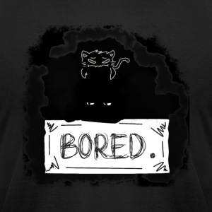 Bored shadow - Men's T-Shirt by American Apparel