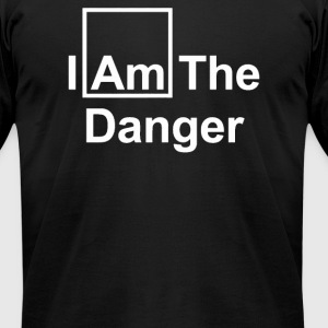 THE DANGER - Men's T-Shirt by American Apparel