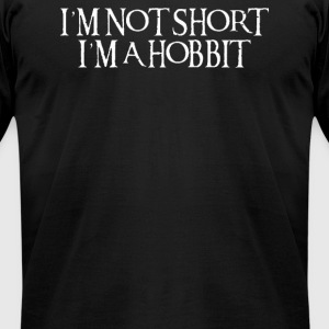 not short, I'm a Hobbit - Men's T-Shirt by American Apparel